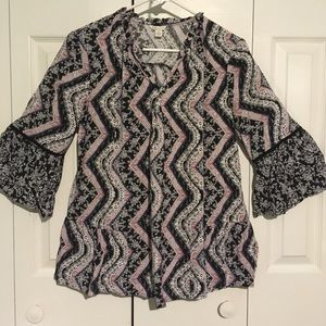 Cute loose style top